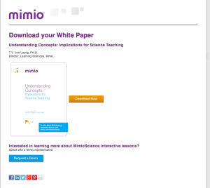 White Paper Download if Webinar original touch